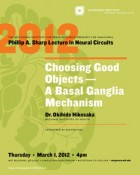 Inaugural Sharp Lecture in Neural Circuits