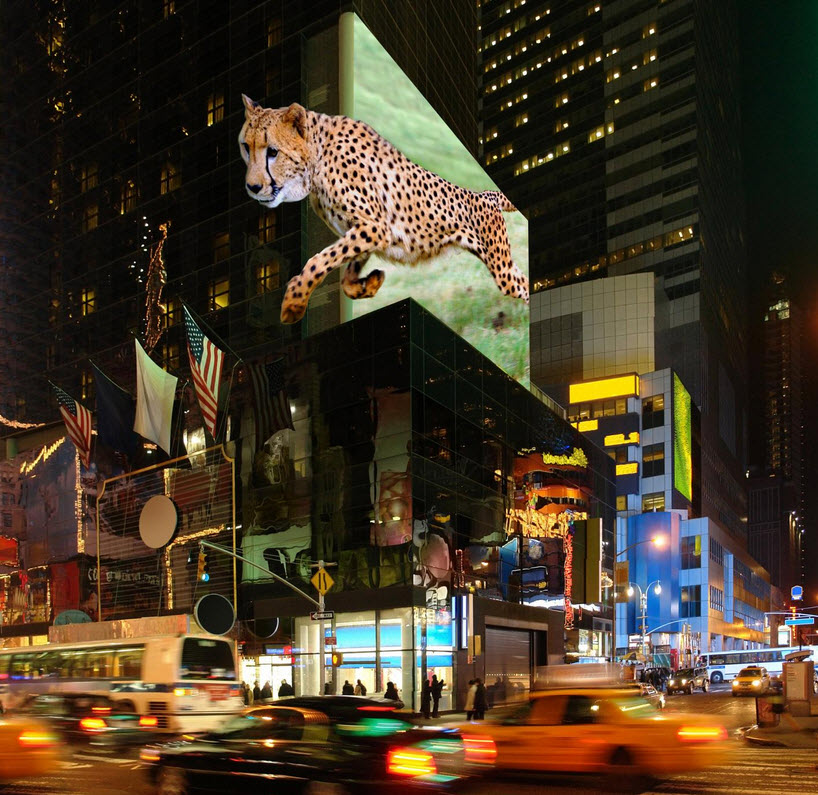 Huge Ultra Realistic Outdoor 3d Displays Without Glasses