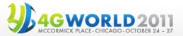4G World 2011 logo