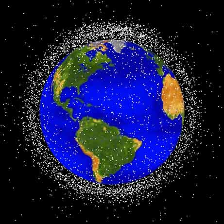 orbital space debris