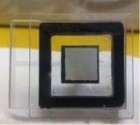This image shows a planar light source device from the front. (Credit: N.Shimoi/Tohoku University)