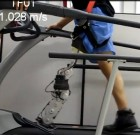 Amputee with robot-inspired artificial leg can walk at normal speed on a treadmill (credit:  University of Texas at Dallas)