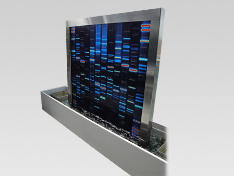 DNA Waterwall (credit: DNA11)