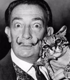 """The only difference between me and a madman is that I am not mad."" --- Salvador Dali (credit: Wikipedia)"