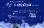 Flying Couch Calendar