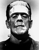 Boris Karloff as Frankenstein's monster (credit: Wikimedia Commons)