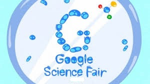 Google Science Fair petri dish logo