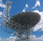100 meter Green Bank Telescope, the world's largest steerable radio telescope (credit: Geremia/Wikimedia Commons)