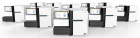 The HiSeq X™ Ten, composed of 10 HiSeq X Systems (credit: Illumina)