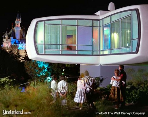 House of the Future Disneyland photo