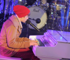 Justin Bieber on Kurzweil piano
