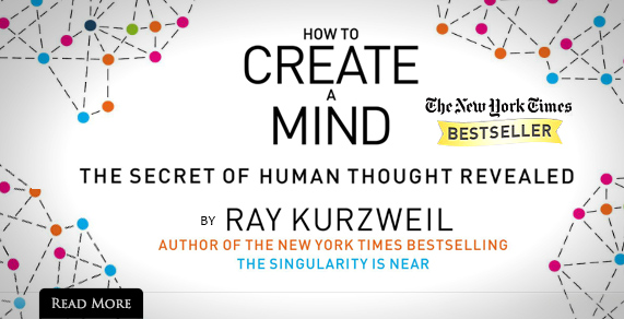 How to Create a Mind: Now Available.