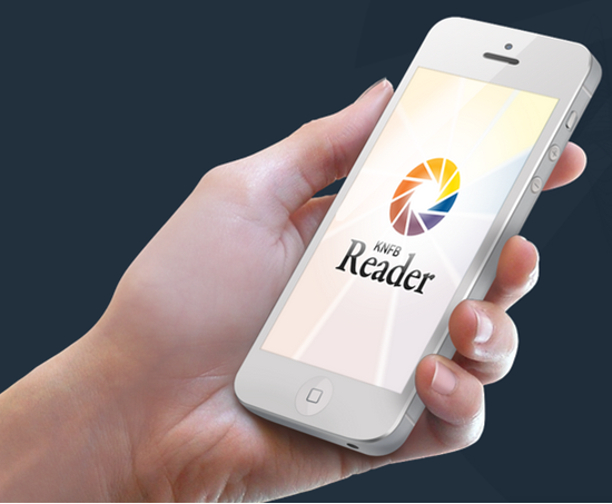 Reuters New Knfb Smartphone App Gives Sight To The Blind Kurzweil