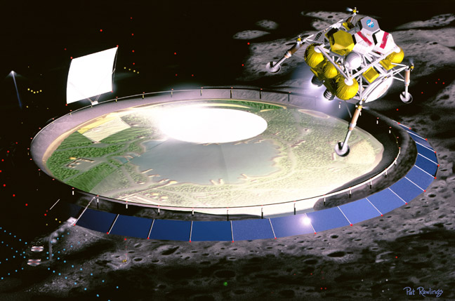 the base on moon by 2020 - photo #13