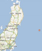 Earthquake is near Fukushima