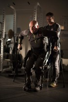 Mark Pollock and trainer Simon O'Donnell (credit: Courtesy of Mark Pollock)