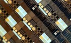 Memristor chip (credit: University of Southampton)