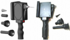 Handheld scanner with interchangeable tips for imaging various tissue sites