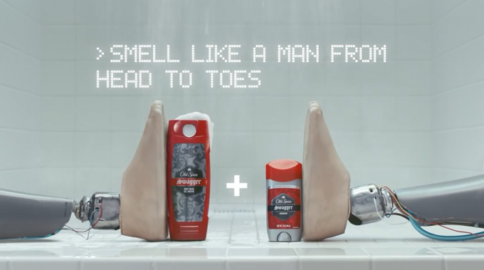 Old Spice - Smell Like a Man from head to Toes - promo - 1