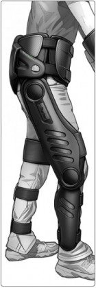 Parker-Hannifin design concept for the commercial version of the exoskeleton (credit: Parker-Hannifin Corporation)