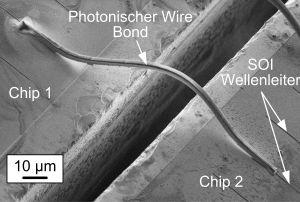 Photonic Wire Bond Transmits Data in the Terabit Range