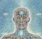 (Credit: Alex Grey, Detail: Psychic Energy System, 1980, Collection of the artist)
