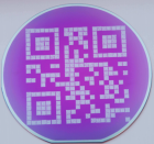 A QR code etched in tungsten (Credit: University of Twente)