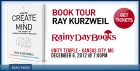 Rainy Day Books book tour slide