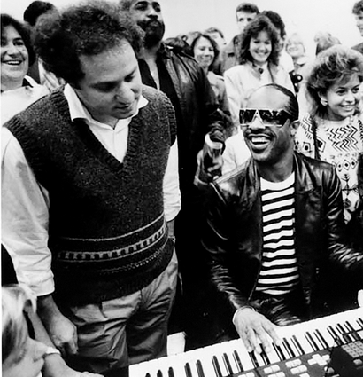 Ray Kurzweil and Stevie Wonder ft