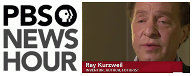Ray Kurzweil on PBS News Hour