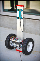 FFR is a robotic scout for firefighters developed by the Coordinated Robotics Lab at UC San Diego.