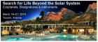 Search for Life Byond the Solar System 2014 logo