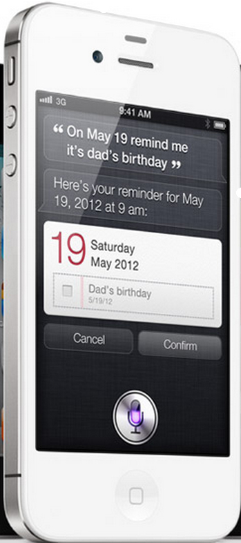 Siri for iPhone 4S