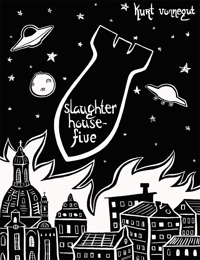 a literary analysis of salughter house five by kurt vonnegut Read this full essay on literary criticism of slaughter house five, by kurt  vonnegut destruction of dresden, destruction of vonnegut's dreamthe little dre.