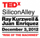 TEDx Silicon Alley Rise of the Machines logo