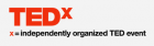 TEDx independently organized event logo