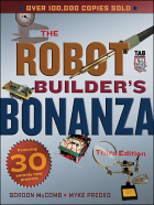 Robot Builder's Bonanza, Third Edition Cover