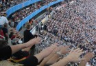 "Stadium crowd performing ""the wave"" at the Confederations Cup 2005 in Frankfurt (credit: Wikimedia Commons)"