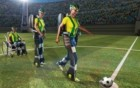 The first ceremonial kick of the World Cup game (Brazil 2014) may be made by a paralyzed teenager wearing a robotic body suit (credit: Walk Again Project)
