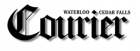 Waterloo Cedar Falls Courier logo