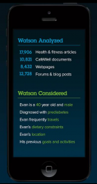 A hypothetical Watson medical app (credit: IBM)