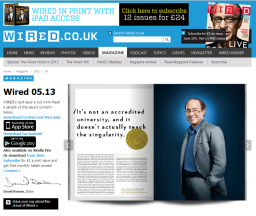 Live forever and save the world: Ray Kurzweil\'s new Singularity ...