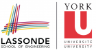 York University Lassonde School of Engineering logo