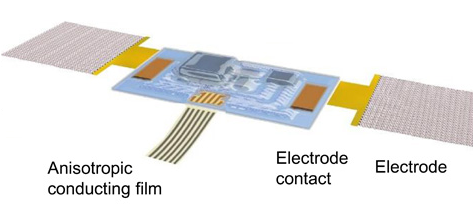 This tiny electronic device applied to the skin can pick up