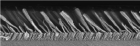 SEM image of the four-layer antireflective coating on a silicon substrate (credit: Martin F. Schubert et al./Appl. Phys. Express)