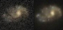 astrophysical images of a galaxy ft