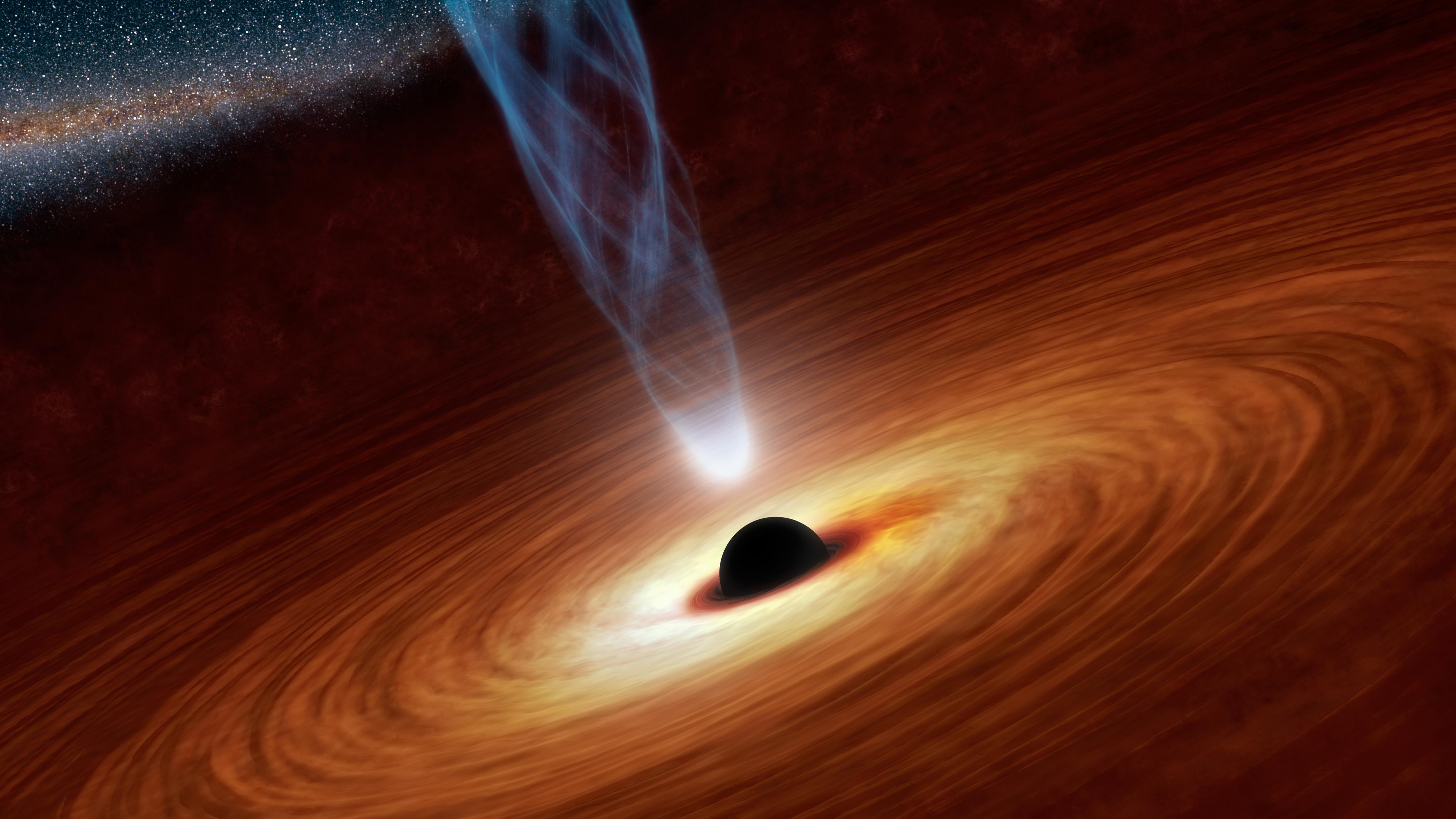 black hole spin courtesy of nasa-jpl-caltech