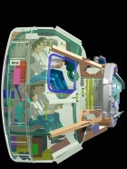 Boeing's CST-100 capsule design can carry a crew of seven and is designed to support the International Space Station and the Bigelow Aerospace Orbital Space Complex. (Boeing)