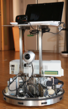 A semiautonomous robot can be controlled with the brain waves of paralyzed patients.