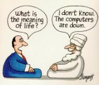 cartoon meaning of life